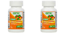 Deva Vegan Multivitamin & Mineral Supplement with Iron 90 Tabs (Paks of 2)