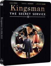 KINGSMAN: TAJNE SŁUŻBY (KINGSMAN: THE SECRET SERVICE) STEELBOOK - BLU-RAY