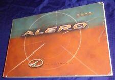 BH1055 2000 Oldsmobile Alero Owners Manual