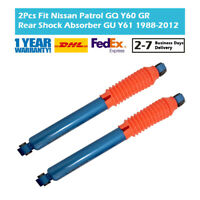 Pair Rear High Performance Shock Absorber Fit Nissan Patrol Y60 Y61 TD42 TB42E