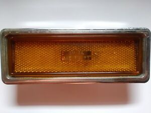 1973 Buick Front Amber Side Marker Assembly GM #5964624 2M