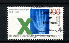 Alemania 1995 Sg # 2625 Wilhem Rontgen los rayos X utilizados #a 24428