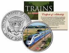 TGV (Fastest Wheeled Train) *Famous Trains Series* JFK Half Dollar U.S. Coin
