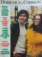 DOMENICA DEL CORRIERE N.6 1972 GIANNI MORANDI