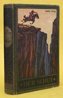 KARL MAY,DER SCHUT, FEHSENFELD, RADEBEUL BEI DRESDEN,1920,RAR
