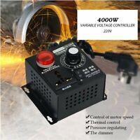 AC 0~220V 4000W Chip Thyristor Electronic Variable Voltage Regulator Controller