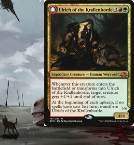 Werewolf Commander GRUUL Deck MTG Magic EDH G/R - Ulrich of the Krallenhorde