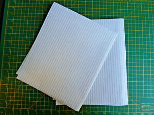 TO FIT ZANUSSI COOKER HOOD  GREASE FILTER PAPER SATURATION INDICATOR 57 X 47cm