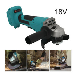 For 18V Li-ion Cordless Brushless Cordless Angle Grinder Tool Bare 125mm