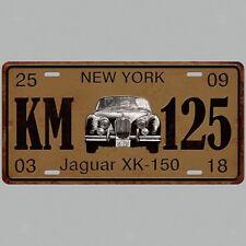 Car License Plate Decor Retro Metal Tin Sign Wall Plaque For Bar Pub Decor I