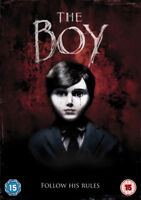 The Boy DVD (2016) Lauren Cohan, Bell (DIR) cert 15 ***NEW*** Quality guaranteed