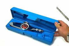 """Snap-On TE12FFUA 3/8"""" DR 12 ft-lb Follow-up Needle Torqometer Wrench w Blue Case"""