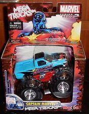 MAISTO MARVEL MEGA TRUCKS Captain Marvel Monster Truck New Motorized series 2