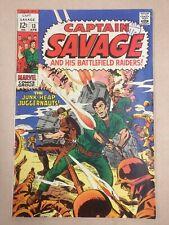 Captain Savage And His Battlefield Raiders 13 (1969)