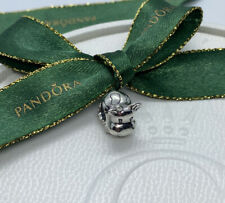 Pandora Genuine ALE 925 Silver Cow Charm 790565 Retired Authentic Animal Retired
