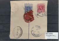 Nigeria Lagos Registered Piece With Seal Stamps Ref: R5616