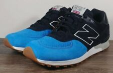 NEW BALANCE 576 Men's Size 10 M576PNB MADE IN ENGLAND Black/Blue Sneakers