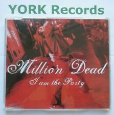 MILLION DEAD - I Am The Party - Excellent Condition CD Single Xtra Mile INT 024