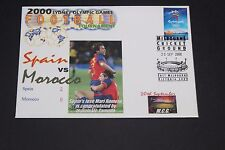 AUST 2000 SYDNEY OLYMPICS FOOTBALL TOURNAMENT SPAIN VS MOROCCO FDC