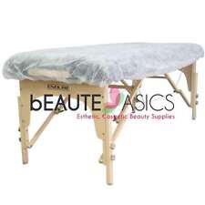 10 Disposable Sheets Massage Table Bed Fitted Covers - BD1201 x1
