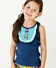 MATILDA JANE Paint by Numbers Peacock Navy Star Cookie Tank Size 8