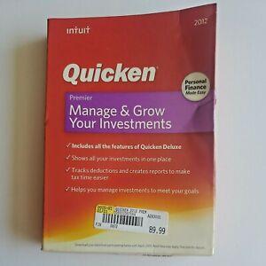 Quicken PREMIER 2012 Financial Software - Windows Version - CD - No Manual