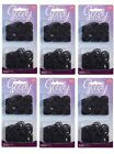 6PK of 250 Goody Ouchless Small Black No Metal Hair Elastics Ponytail Holders