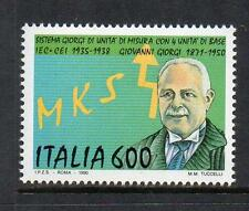 ITALY MNH 1990 SG2094 55TH ANV OF INVENTION OF GIORGI/MKSA SYSTEM