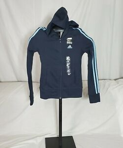Women's Adidas Dark Navy ZNE Athletics hoodie - Size XS