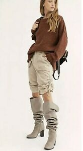 NWT Free People Cassidy Cargo Shorts In Sand Size 0 $108