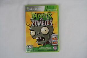 Plants vs. Zombies (Microsoft Xbox 360, 2010)**Free Shipping Tore plastic