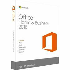 Microsoft Office Home and Business 2016 Licence 1 PC 32/64-bit Medialess