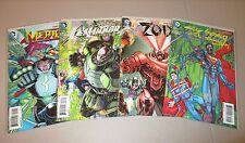 Action Comics #23.1 23.2 23.3 23.4 (Lot of 4, 3D Covers, 1st Prints) DC Villains