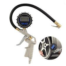 Electric Digital LCD Tire Air Pump Tyre Inflator Pressure Gauge Car Auto Tools