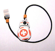 Children's Hearing Aid SAFTY LEASH RETAINER CLIP for 1 sided H.A....ROUND ROBOT