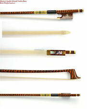 Master Snakewood Violin Bow Great Performance Master Craftsmanship#MI635