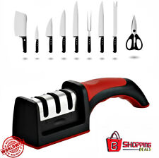 Knife Sharpener Priority Chef Version Kitchen All Knifes Blade 3 Section Tool