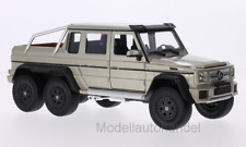 Mercedes G63 AMG 6x6  metallic-beige  - 1:24 WELLY  *NEW*