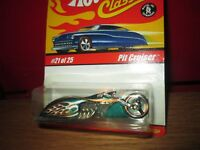 Pit Cruiser V8 CHOPPER Hot Wheels CLASSIC  spectraflame green chrome 1/64 #21