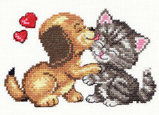 Cross Stitch Kit Love (cat and dog) art. 16-08