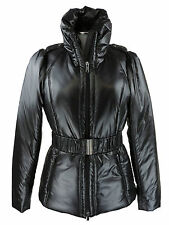 Apriori Jacke 38 schwarz Steppjacke Parka Polyester mantel coat neu mit Etikett