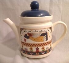 Dicksons Angel Debbie Mumm There Is Joy In The Lord Ceramic Teapot