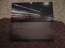 Audi Sat Nav Navigation SD CARD 2016 Satellite Navigation Disc A1 Europe En parfait état, dans sa boîte-HS