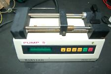 Harvard Apparatus 11  Syringe Pump laboratory syringe pump  lab variable 981074