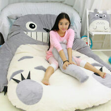 Big Totoro Bed Carpet Tatami Mattress Sofa Filled Cushion Toy Kid Birthday Gifts