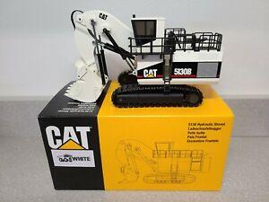 Caterpillar Cat 5130B Mining Front Shovel - White - NZG 1:50 Scale #391 New!