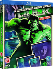 The Incredible Hulk Reel Heroes Limited Edition Blu-ray 2012 With Slipcase