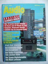 Audio 2/92 TECHNICS RS BX 707, AIWA AD f910, KENWOOD KX 7030, ONKYO TA 2850, KLIPSCH