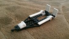 LEGO City Custom Black with White  Trailer for Hot Rod and Truck