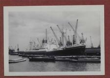 'Cedric'  Royal Albert Dock, London  1959 photograph qa.202